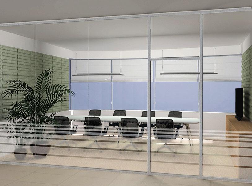 progettazione e render ufficio